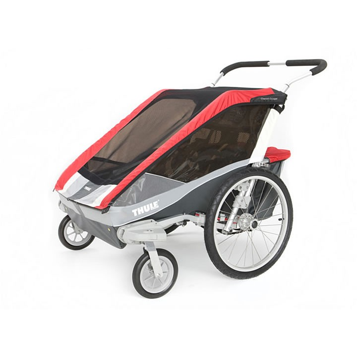thule cougar 2 trailer with stroller kit. Black Bedroom Furniture Sets. Home Design Ideas