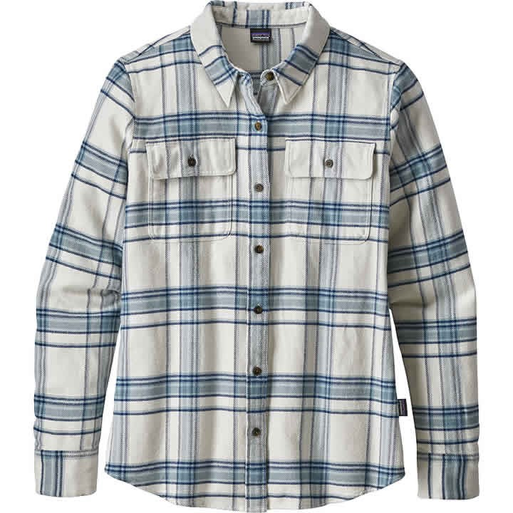 Patagonia Long-Sleeved Fjord Flannel Shirt Women's
