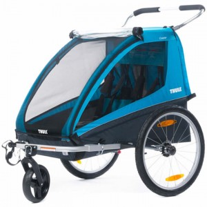 Thule Coaster XT Trailer with Stroller and Cycling Kit