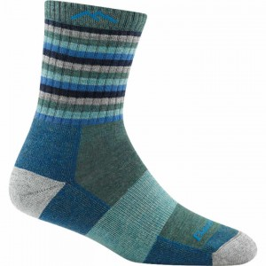 Darn Tough Stripes Micro Crew Cushion Socks Women's