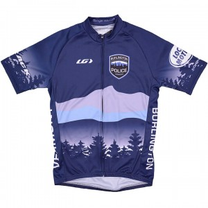 Burlington Police Department Bike Jersey Men's