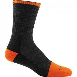 Darn Tough Steely Micro Crew Cushion Socks with Full Cushion Toe Men's