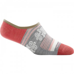 Darn Tough Topless Stripe No Show Hidden Light Socks Women's