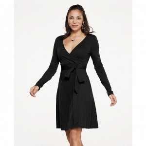 Toad&Co Cue Wrap Long Sleeve Dress Women's