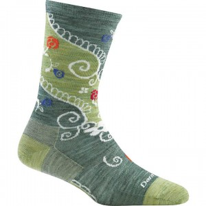 Darn Tough Twisted Garden Crew Light Socks Women's