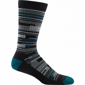 Darn Tough Urban Block Crew Light Cushion Sock Men's