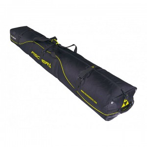 Fischer Skicase Performance XC Ski Bag with Wheels 10 pair