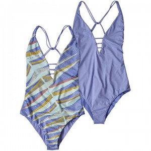 Patagonia Reversible Extended Break 1pc Swimsuit Women's