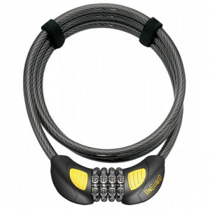 OnGuard Terrier 4' Combo Cable Lock