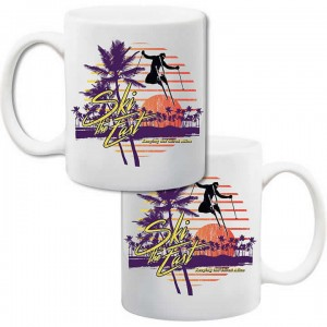 Ski The East Vacation Coffee Mug