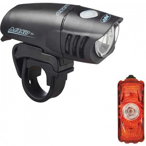 NiteRider Mako 250 Front & Cherrybomb 35 Rear Light Set