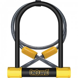 On Guard Bulldog DT U-Lock w/ 4' Cable