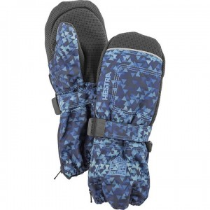 Hestra Baby Zip Long Mitts Kid's