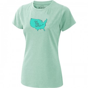 Ski The East USA Tee Women's