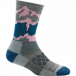 Darn Tough Three Peaks Micro Crew Light Cushion Socks Women's