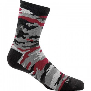 Darn Tough Camo Crew Light Sock Kids'