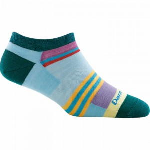Darn Tough Modern Stripe No Show Light Socks Women's