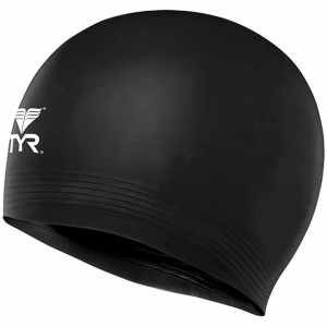 Tyr Solid Latex Adult Swim Cap
