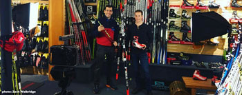 Ben Lustgarten Discusses Rossignol R-Skin Classic Cross Country Skis