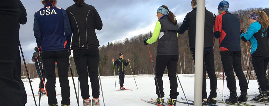Ben Lustgarten's Cross Country Skate Ski Clinic at Sleepy Hollow