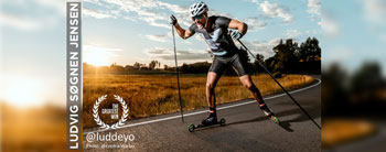 Rollerski Sprint Challenge with Ludvig Søgnen Jensen on August 10th