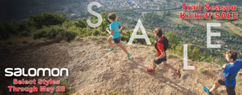Salomon Trail Season Kickoff Sale Through May 28