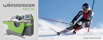 Wintersteiger Race NC Grind Service is Now Available for Alpine Race Skis