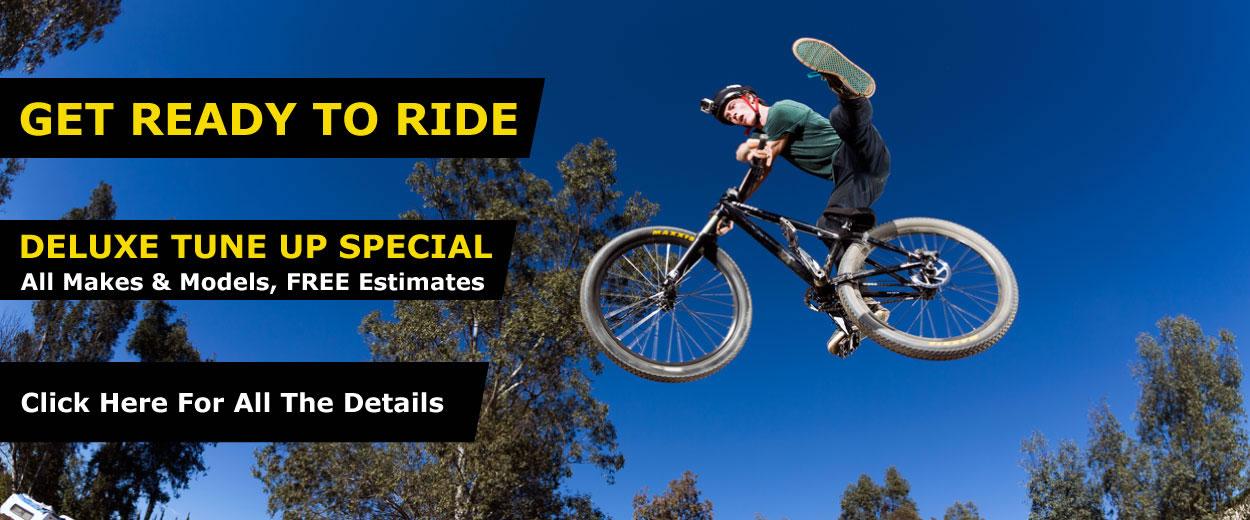 Get Ready to Ride. Pre-season Tune Special